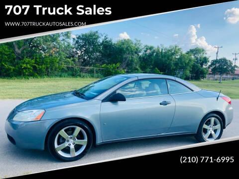 2007 Pontiac G6 for sale at 707 Truck Sales in San Antonio TX
