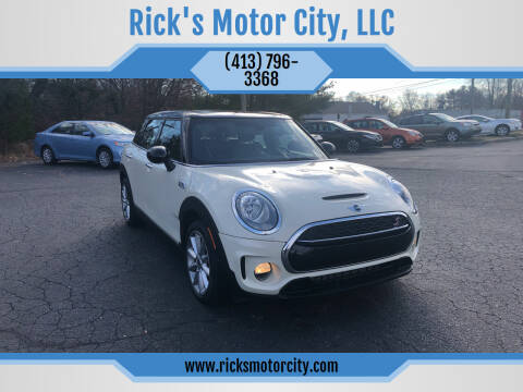 2016 MINI Clubman for sale at Rick's Motor City, LLC in Springfield MA