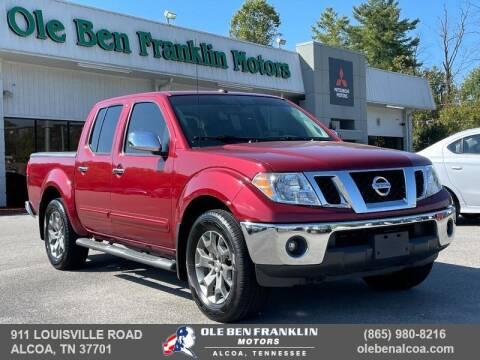 2019 Nissan Frontier for sale at Ole Ben Franklin Motors-Mitsubishi of Alcoa in Alcoa TN