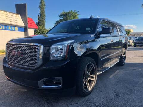 2016 GMC Yukon XL for sale at Gtr Motors in Fort Lauderdale FL