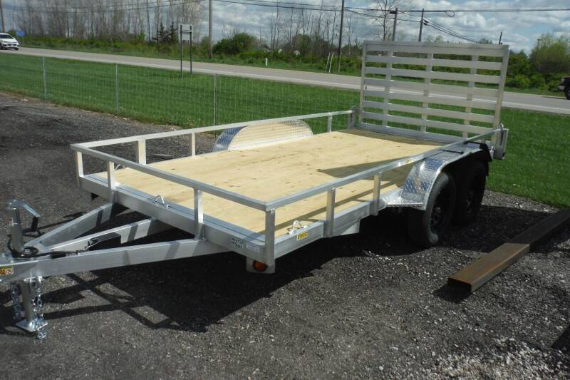2022 Quality Steel LANDSCAPE TANDEM 14 FT for sale at Bryan Auto Depot in Bryan OH