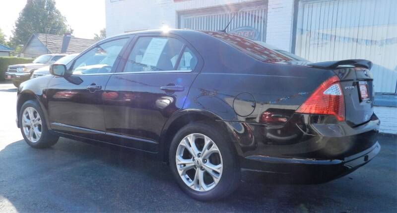 2012 Ford Fusion SE 4dr Sedan - Russellville OH