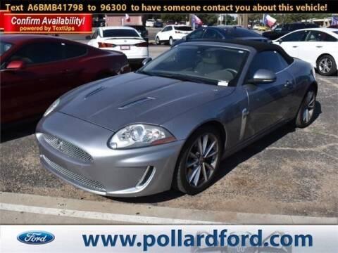2011 Jaguar XK for sale at South Plains Autoplex by RANDY BUCHANAN in Lubbock TX
