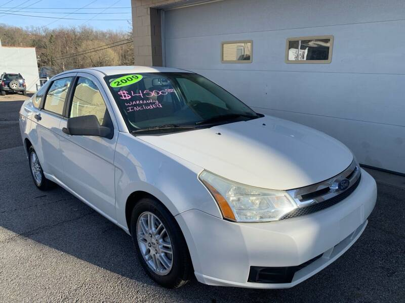 2009 Ford Focus for sale at G & G Auto Sales in Steubenville OH