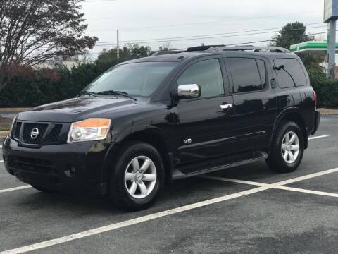 2008 Nissan Armada for sale at RUSH AUTO SALES in Burlington NC