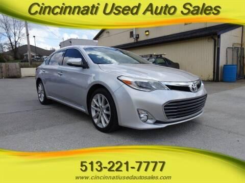 2013 Toyota Avalon for sale at Cincinnati Used Auto Sales in Cincinnati OH