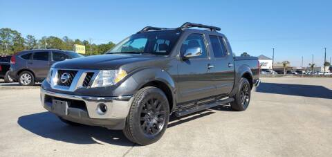 2010 Nissan Frontier for sale at WHOLESALE AUTO GROUP in Mobile AL