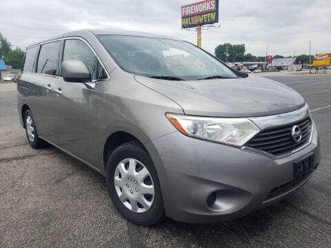2012 Nissan Quest for sale at speedy auto sales in Indianapolis IN