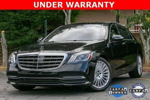 2018 Mercedes-Benz S-Class for sale at Gravity Autos Atlanta in Atlanta GA