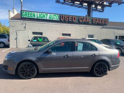 2010 Ford Fusion for sale at Green Light Auto in Sioux Falls SD