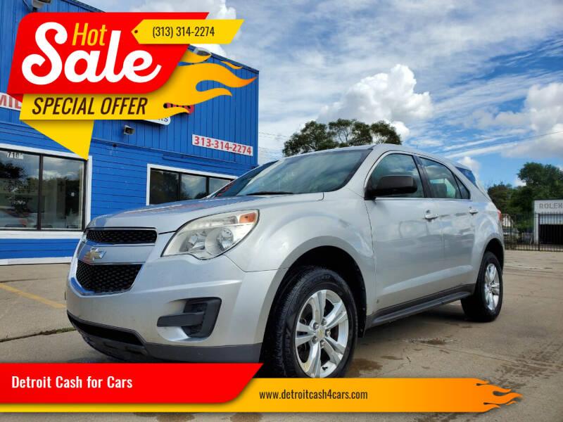 2010 Chevrolet Equinox for sale at Detroit Cash for Cars in Warren MI