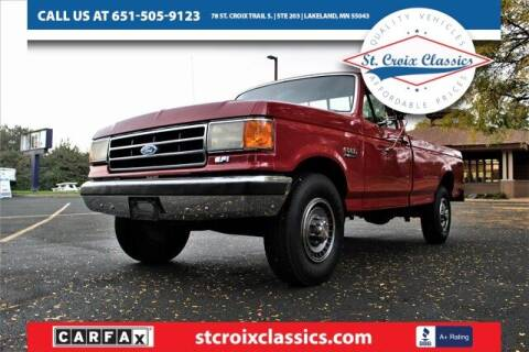 1991 Ford F-250 for sale at St. Croix Classics in Lakeland MN