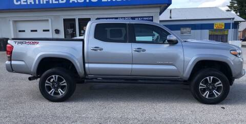 2016 Toyota Tacoma for sale at Perrys Certified Auto Exchange in Washington IN