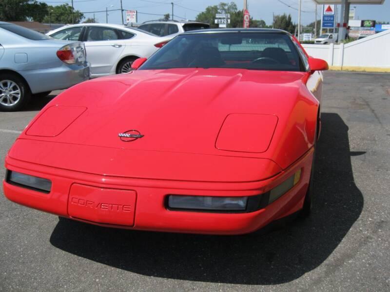 1995 Chevrolet Corvette for sale at PARK AUTOPLAZA in Pinellas Park FL