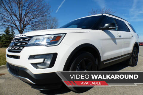 2017 Ford Explorer for sale at Macomb Automotive Group in New Haven MI