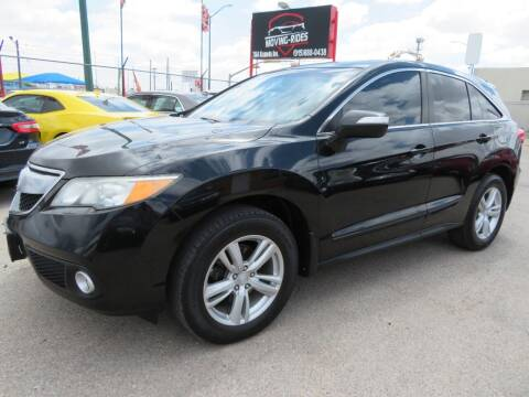 2013 Acura RDX for sale at Moving Rides in El Paso TX
