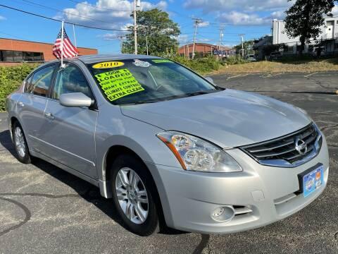 2010 Nissan Altima for sale at Fields Corner Auto Sales in Boston MA