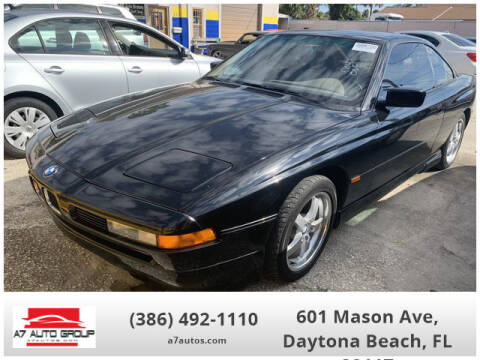 1995 BMW 8 Series for sale at A7 AUTO SALES in Daytona Beach FL