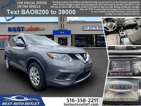 2016 Nissan Rogue for sale at Best Auto Outlet in Floral Park NY