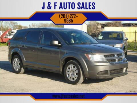 2013 Dodge Journey for sale at J & F AUTO SALES in Houston TX