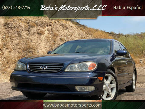 2004 Infiniti I35 for sale at Baba's Motorsports, LLC in Phoenix AZ