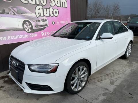 2013 Audi A4 for sale at Euro Auto in Overland Park KS