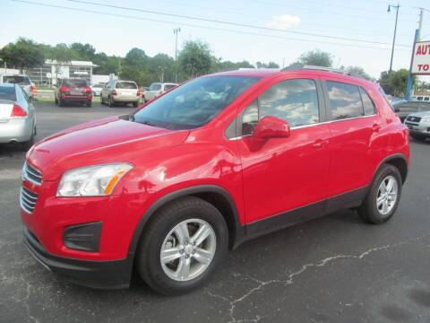 2016 Chevrolet Trax for sale at Blue Book Cars in Sanford FL