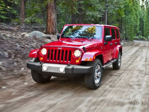 2012 Jeep Wrangler Unlimited for sale at Sundance Chevrolet in Grand Ledge MI