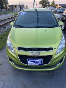 2013 Chevrolet Spark for sale at Performance Motor Cars in Washington Court House OH