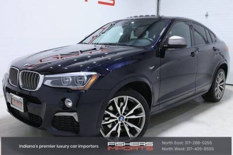 2017 BMW X4 for sale at Fishers Imports in Fishers IN