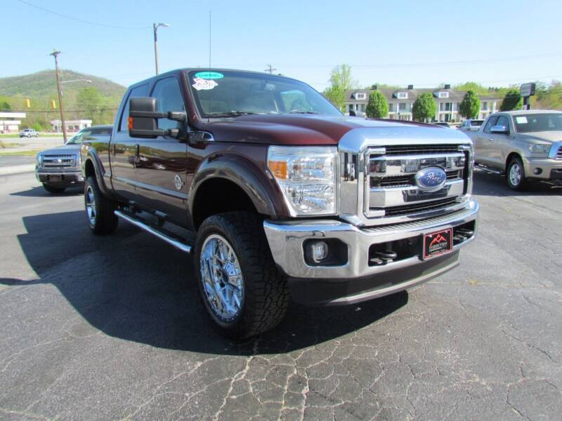 2016 Ford F-250 Super Duty for sale at Hibriten Auto Mart in Lenoir NC