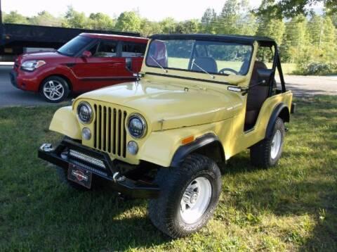 1974 Jeep CJ-5 for sale at Classic Car Deals in Cadillac MI