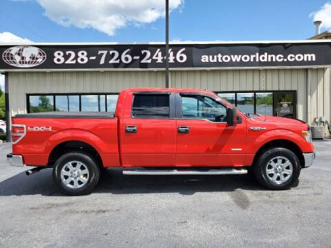 2014 Ford F-150 for sale at AutoWorld of Lenoir in Lenoir NC