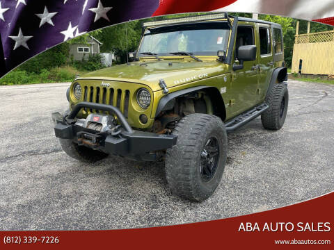 2007 Jeep Wrangler Unlimited for sale at ABA Auto Sales in Bloomington IN