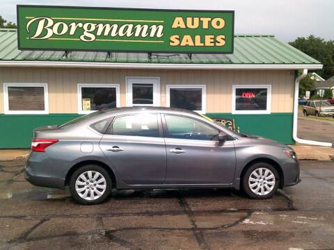 2017 Nissan Sentra for sale at Borgmann Auto Sales in Norfolk NE