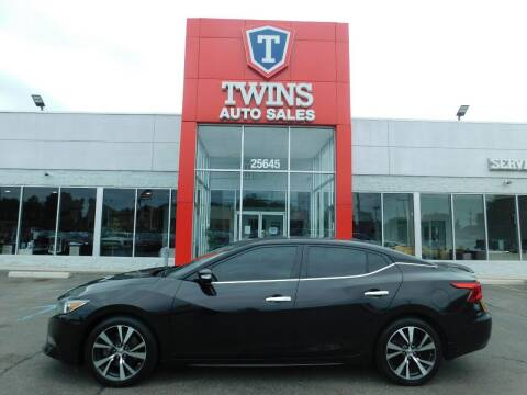 2017 Nissan Maxima for sale at Twins Auto Sales Inc Redford 1 in Redford MI