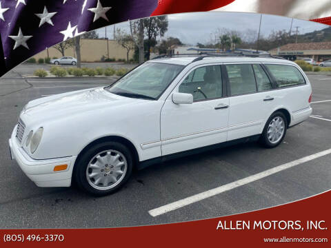 1999 Mercedes-Benz E-Class for sale at Allen Motors, Inc. in Thousand Oaks CA