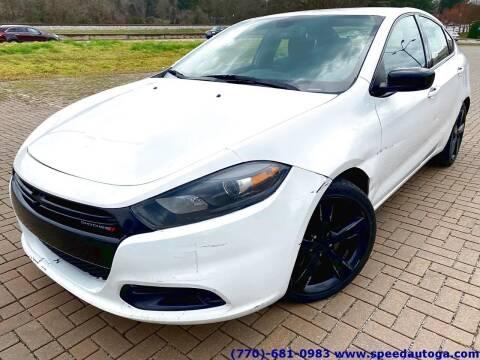 2015 Dodge Dart for sale at JES Auto Sales LLC in Fairburn GA