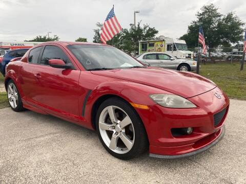 2005 Mazda RX-8 for sale at NETWORK TRANSPORTATION INC in Jacksonville FL
