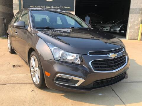 2015 Chevrolet Cruze for sale at KAYALAR MOTORS - ECUFAST HOUSTON in Houston TX