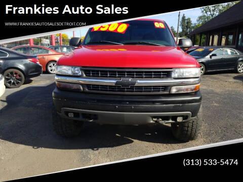 2000 Chevrolet Silverado 1500 for sale at Frankies Auto Sales in Detroit MI