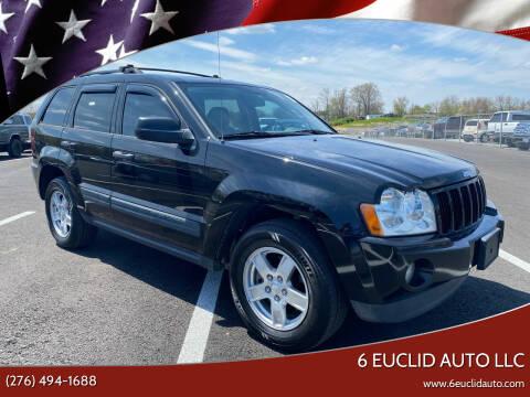 2006 Jeep Grand Cherokee for sale at 6 Euclid Auto LLC in Bristol VA