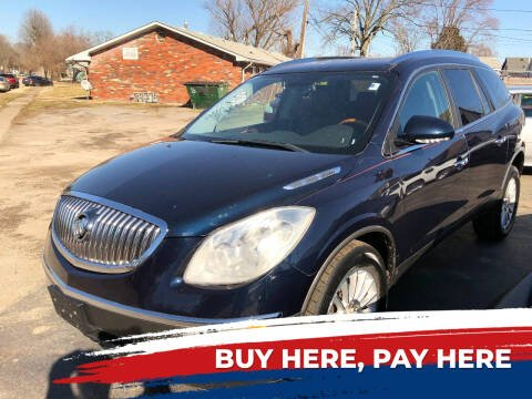 2009 Buick Enclave for sale at Marti Motors Inc in Madison IL