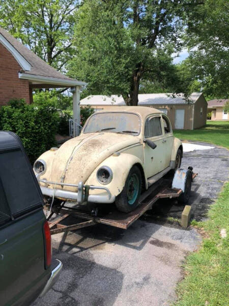 1967 Volkswagen Beetle for sale at Finish Line Motors in Tulsa OK
