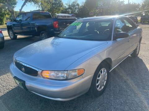 2003 Buick Century for sale at BK2 Auto Sales in Beloit WI