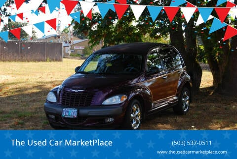 2002 Chrysler PT Cruiser for sale at The Used Car MarketPlace in Newberg OR