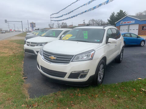 2015 Chevrolet Traverse for sale at GENE AND TONYS DEMOTTE AUTO SALES in Demotte IN