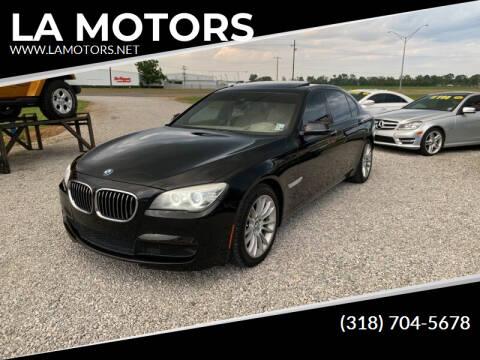 2013 BMW 7 Series for sale at LA MOTORS in Alexandria LA