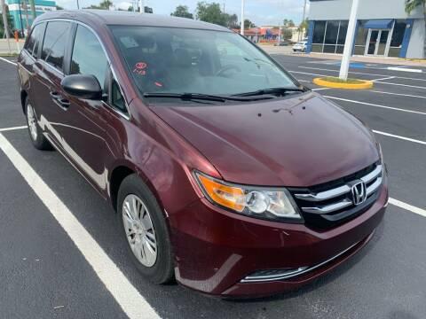 2016 Honda Odyssey for sale at Eden Cars Inc in Hollywood FL