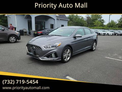 2019 Hyundai Sonata for sale at Mr. Minivans Auto Sales - Priority Auto Mall in Lakewood NJ